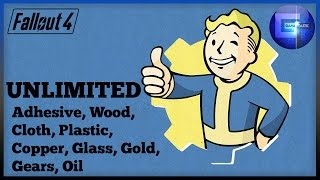 Fallout 4 - Unlimited Adhesive, Wood, Cloth, Plastic, Copper, Glass Exploit (Settlement Resources)