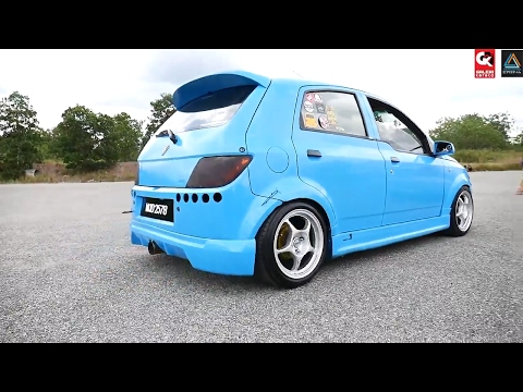 Proton Savvy Modified by Pahang Savvy Community - Meet and Greet Koi Stance 2017