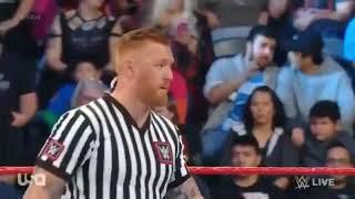 Seth Rollins Vs Baron Corbin Monday Night Raw TlC match 11December 2018 highlights