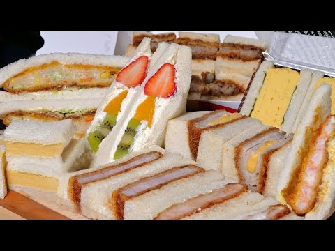 Japanese Sandwiches, better than Sushi or Ramen?  ★ ONLY in