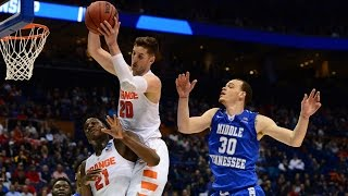 Second Round: Syracuse defeats Middle Tennessee State