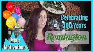 Firearms - Celebrating Remington and 200 Years, Mia's Motivations   Mia Anstine