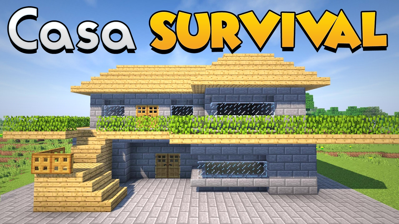 Come costruire una casa per il survival su minecraft - Documenti per affittare una casa ...