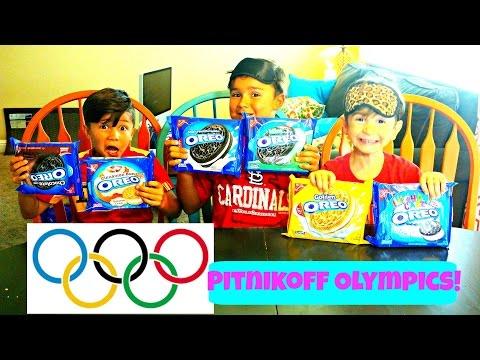 OREO CHALLENGE// PITNIKOFF OLYMPICS// VLOGUST #SSSVEDA