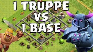 1 TRUPPE vs 1 BASE! || CLASH OF CLANS || Let's Play CoC [Deutsch/German HD+]