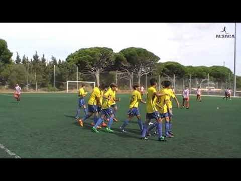 "ALSACA2015 Balón de Cádiz C.F. ""B"" - Algeciras C.F. 2º Tiempo Jornada 4 Temporada 2015 - 16"