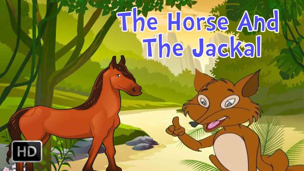 Jataka Tales - The Horse and The Jackal - Moral Stories for Kids