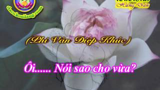 Karaoke - Que Huong Tinh Me (Lien khuc Ly & Ban van CL) - HD (new)