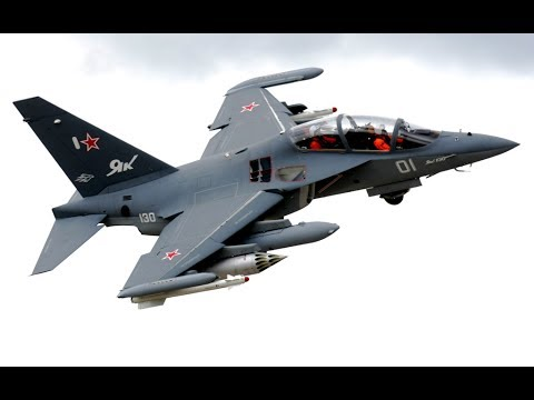 Yak-130 - Russian military trainer aircraft. History and description