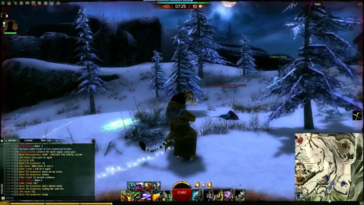 Guild Wars  Pve Build Engineer