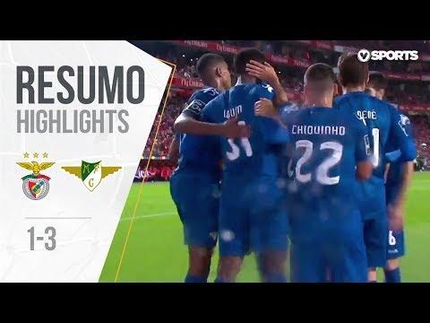 Highlights | Resumo: Benfica 1-3 Moreirense (Liga 18/19 #9)