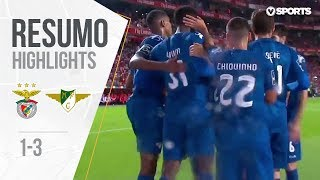 Highlights   Resumo: Benfica 1-3 Moreirense (Liga 18/19 #9)