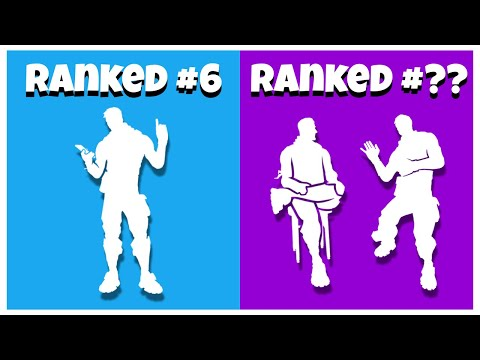 Top 10 Most TOXIC EMOTES In Fortnite Chapter 2 Season 2! (Fortnite Tryhard Emotes)