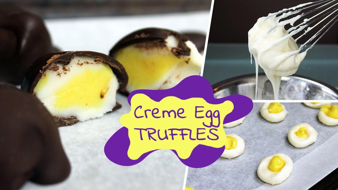Easy Creme Egg Truffles | Vegan Recipe by Mary's Test Kitchen