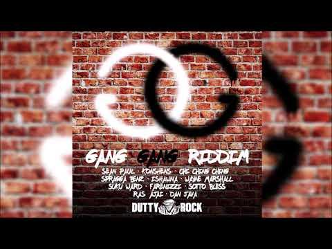 Gang Gang Riddim Mix ▶DEC 2018▶ Sean Paul,Konshens,Ishawna,Chi Ching Ching & More (Dutty Rock)