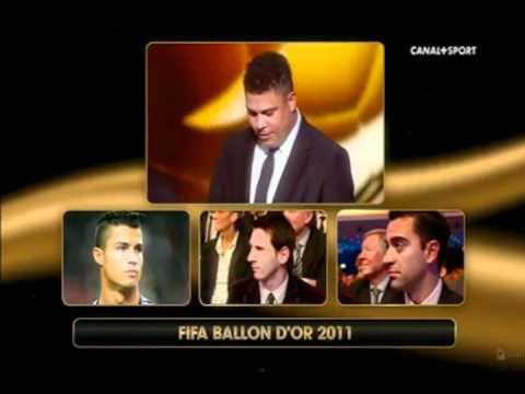 Premio Bola de Ouro 2011 (FIFA Ballon D'or 2011) 09/01/2012