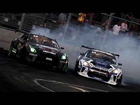 FIA Intercontinental Drifting Cup (Report by Eurosport)