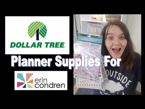 MASSIVE Dollar Tree Planner Supply Haul