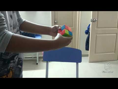 Awesome stars / how to solve a 2 x 2 Rubik's cube