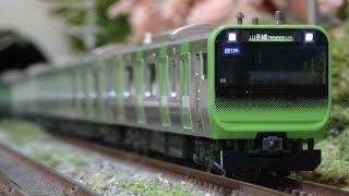 Nゲージ E235系 山手線(KATO) 走行シーン集