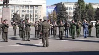 Генеральная репетиция парада духовых оркестров в Саратове. Часть 2(Подробнее - http://www.sarinform.ru/news/2016/10/03/161585., 2016-10-03T10:22:00.000Z)