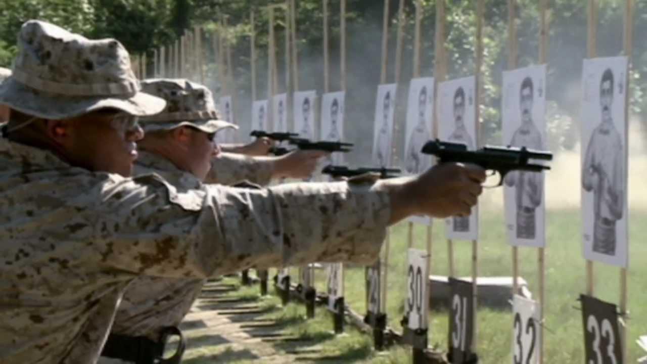 Marine Corps Weapons: M9 Berretta - YouTube