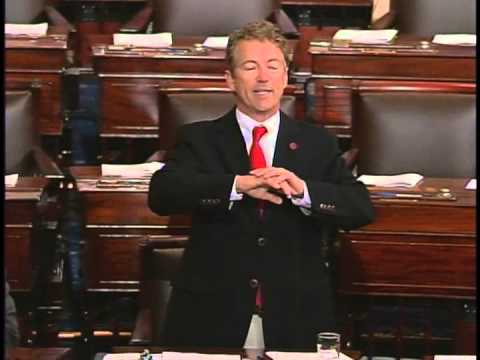Sen. Rand Paul Speaks Out Against the PATRIOT Act - May 31, 2015