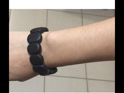 Лечебный браслет Бяньши из черного нефрита по супер цене.