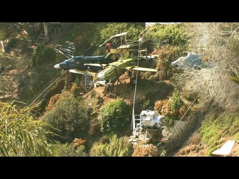 Sheriff Stephen J. finds antique airplanes created and built on a hillside - from EP45