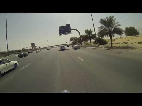 GoPro Ride around Dubai on HD FatBoy.