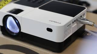 How great is this budget portable projector?   GearGo Portable HD Projector