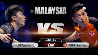 Lin Yun Ju vs Wong Chun Ting | T2 Diamond Malaysia (Semi Final)