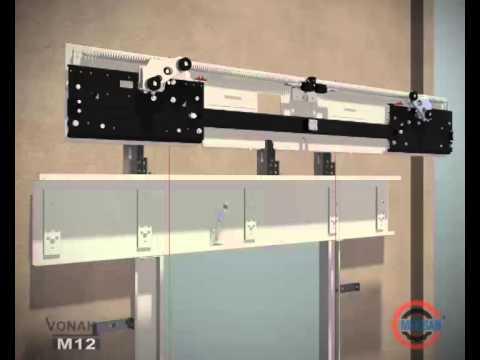 MEKİSAN - M12 Asansör Kapısı Montaj Animasyonu
