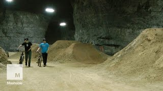 Largest indoor bicycle park in US being built in old Kentucky mine | Mashable