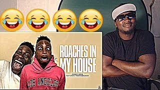 LMFAO!!! FunnyMike & TravisBadazz - Roaches In My House (Official Song)REACTION!!!