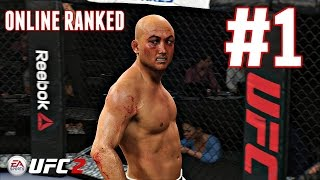 EA Sports UFC 2 - ONLINE RANKED CHAMPIONSHIPS [#1] - (Xbox One Gameplay HD)