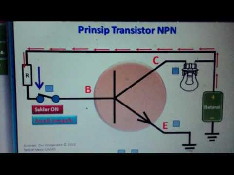 Prinsip Kerja Transistor NPN