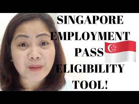 HOW TO CHECK YOUR EMPLOYMENT PASS  ELIGIBILITY  (SINGAPORE)