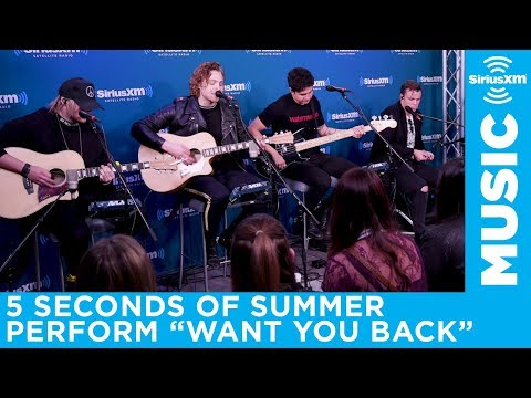 """5 Seconds Of Summer perform """"Want You Back"""" on The Morning Mash Up"""