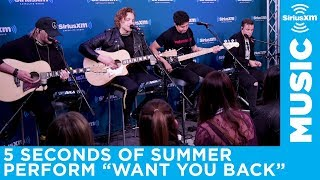"5 Seconds Of Summer perform ""Want You Back"" on The Morning Mash Up"