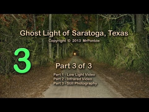 Bragg Ghost Road Light Saratoga Texas 3 of 3 Photography