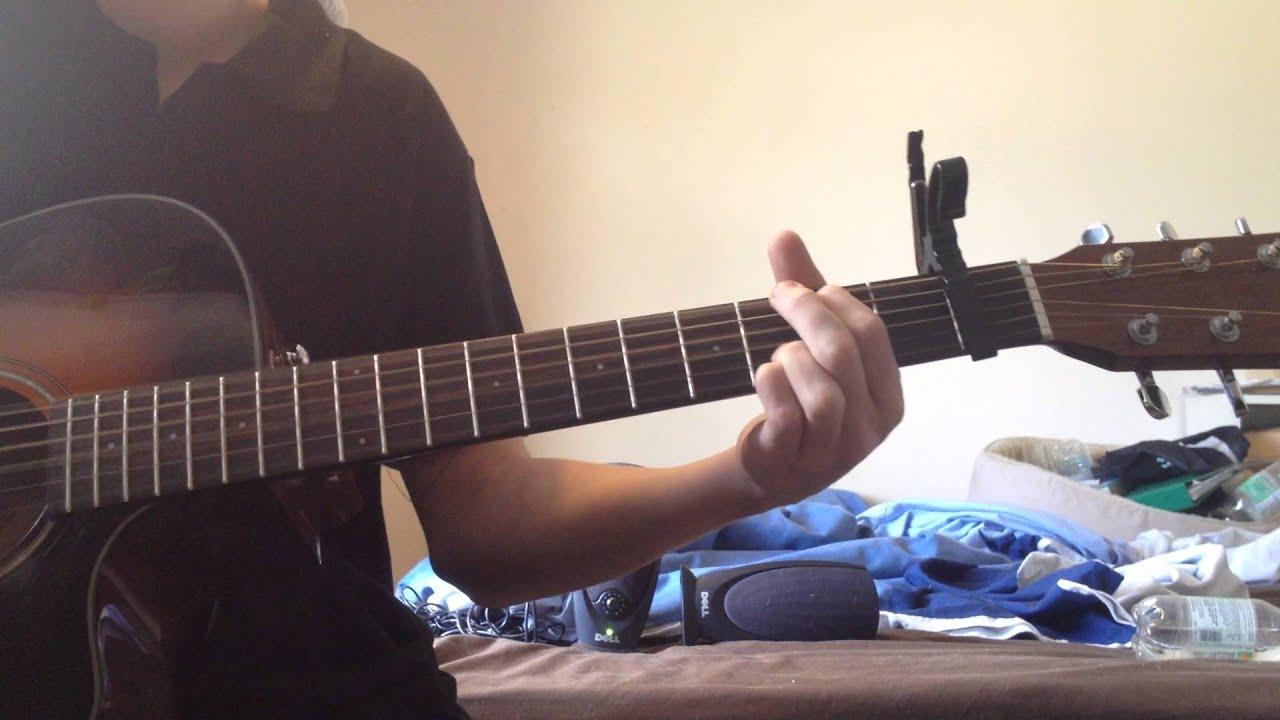Ed Sheeran Skinny Love Guitar Cover Youtube