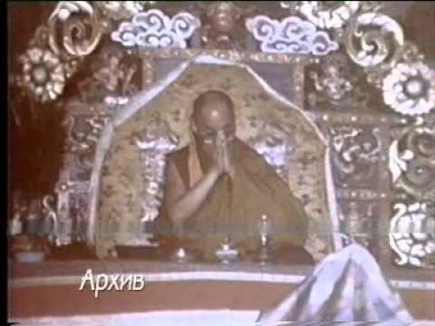 Dalailama's visits in mongolia