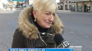 TG TREVISO (29/12/2016) - VENETO BANCA, VENDUTO IL JET