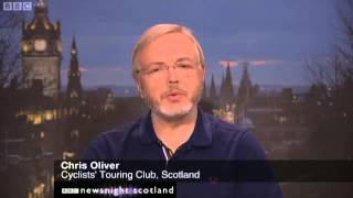 Pedal On Parliament in Amsterdam - Newsnight Scotland 7.2.13