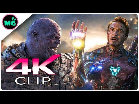 Iron Man Vs Thanos | Final Battle Scene - AVENGERS 4 ENDGAME (2019) New Movie CLIP 4K