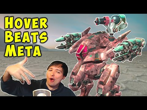 HOVER BEATS META - Death From Above - War Robots Mk2 Gameplay WR