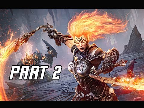 DARKSIDERS 3 Walkthrough Gameplay Part 2 - Flame Hollow (Let's Play Commentary)