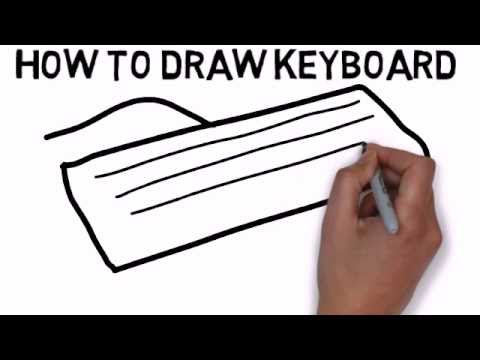 Draw keyboard