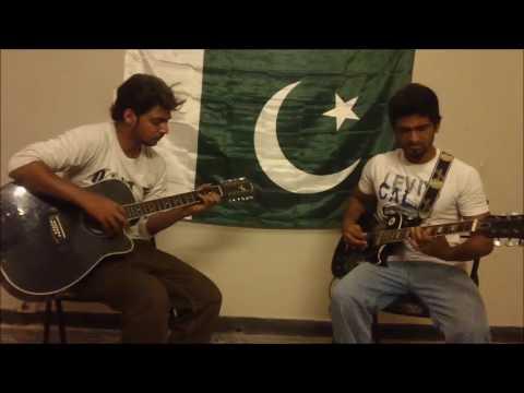 National Anthem of Pakistan (guitar instrumental)